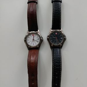 Bundle Vtg 90s Watch Swiss Army Knife Stainless